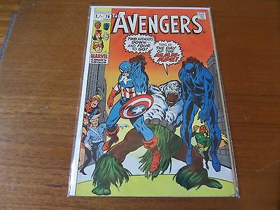 Avengers 78 Silver age Classic Marvel