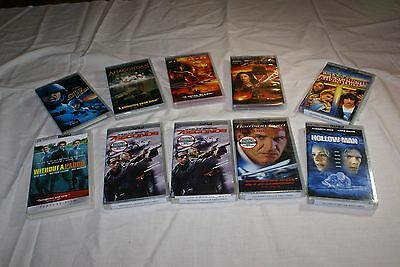 Lot of (10) UMD PSP movies: 4 sealed, 6 unsealed