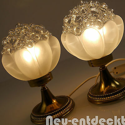 tischlampe tischleuchte bulb bubble glas chrom lampe 60er. Black Bedroom Furniture Sets. Home Design Ideas