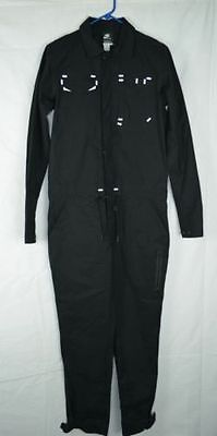 Nike Nsw Sportswear Ventile Reflective Work Jumpsuit Women's S Black 483893-010