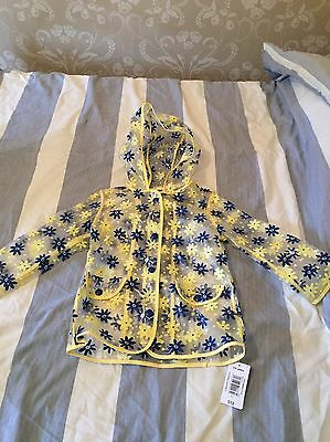 BNWT Rain Coat Age 3-4 Yrs Girls