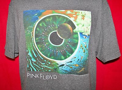 PINK FLOYD Pulse Album Cover T-SHIRT L Division Bell Tour PSYCH ROCK