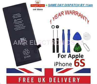 New FULL Capacity Replacement Battery For iPhone 6S 1715mAh + Tools UK