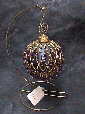 Native American Beaded Christmas Balls Ornaments Decoration Holiday Authentic #1