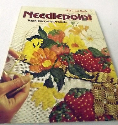 Sunset Needlepoint Techniques and Projects 15 plus projects Stitch Diagrams