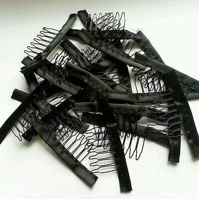 3Pcs Wig combs, Clips For Wig Cap and Wig Making Combs