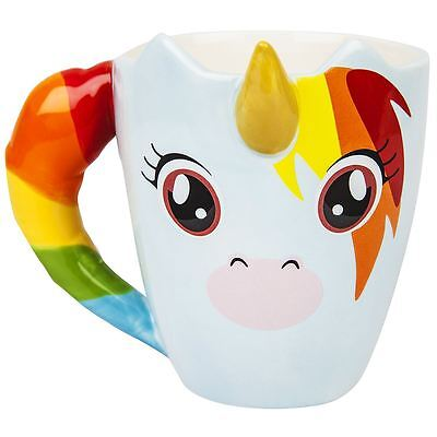 Unicorn 3D Mug Magical Rainbow Cup Thumbs UP