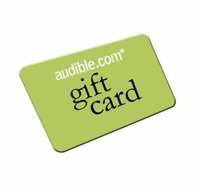 12 Audible.com or UK books of your choice - 12 credits