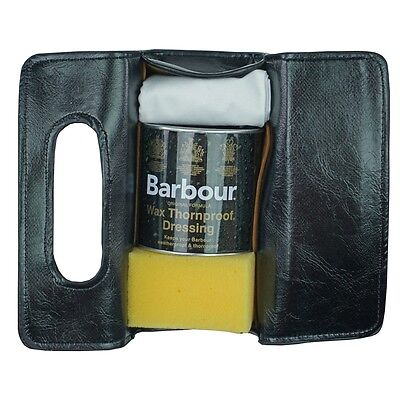 Re-waxing Kit for Waxed Jackets Gift Pack & Barbour Wax Thornproof Dressing