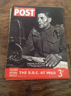 Picture Post Magazine - March 15th 1941 The BBC At War
