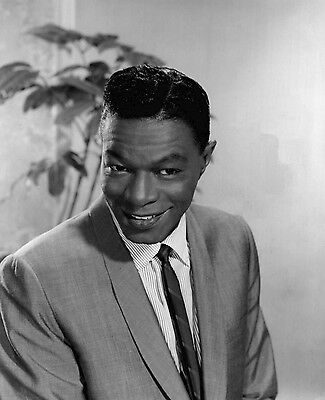 Nat King Cole Singer Leading Jazz Pianist 10x8 Glossy Music Photo Print Picture