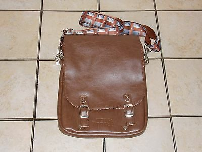 Disney Parks Chewbacca Leather Tablet Case Star Wars Purse Wookie Bag New