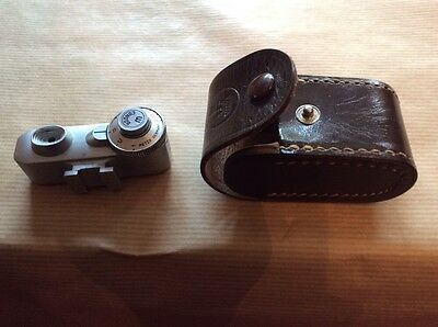 Vintage Wata meter flash With Leather Case
