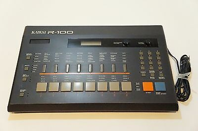KAWAI R-100 R100 Digital Drum Machine Rare Vintage World Ship