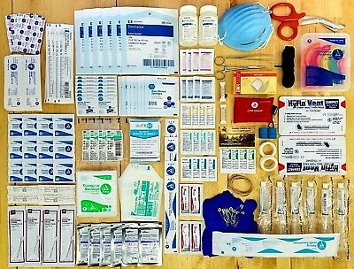 Survival First Aid Kit - Family Medical Supply Set - First Responder Trauma Pack