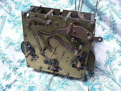 Antique French Clock Mechanism For Spares Restoration Project