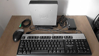 Windows 98 HP Thin Client T5530 Boxed Keyboard Mouse Power Supply DOS Games