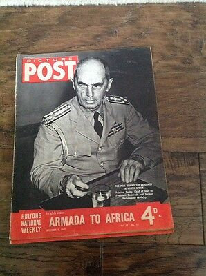 Picture Post Magazine - December 5th 1942. Armada To Africa