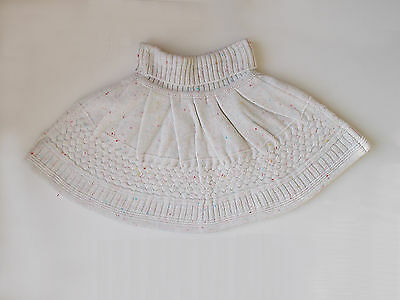 Girls Wooly Skater Style Skirt Age 4-5 Years £3.49