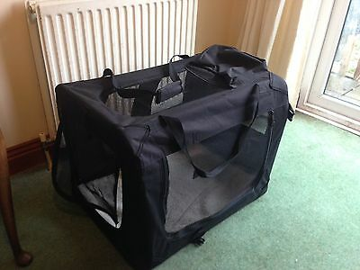 Large Fabric Pet Carrier / Crate
