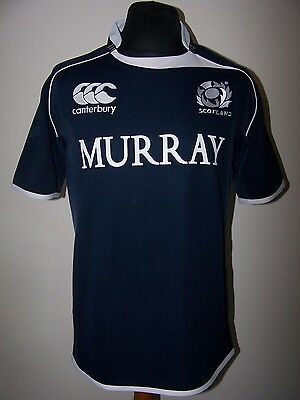 Scotland 2010/2011 Home Canterbury Union Rugby World Cup Shirt (L)