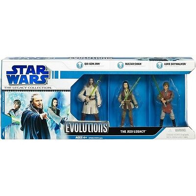star wars - legacy collection - pack evolution the jedi legacy