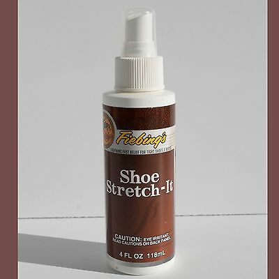 Fiebings Shoe Stretch It Spray Bottle Shoe Stretcher 4oz NEW