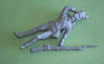 Toy Soldiers War Of 1812 Dead Us Soldier #2 54 Mm