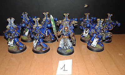 9 Thousand Sons metal and plastic Chaos Space Marine pro painted mil hijos