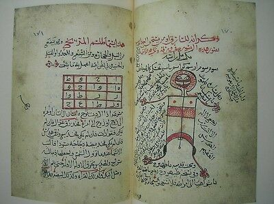 Facsimile Arabic EL Levhi EL Yemi Riznl Islam Magic Charm Havass Talis NEW BOOK