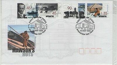 AUSTRALIA MAWSON'S HUTS 1999  FIRST DAY COVER P&P discount available
