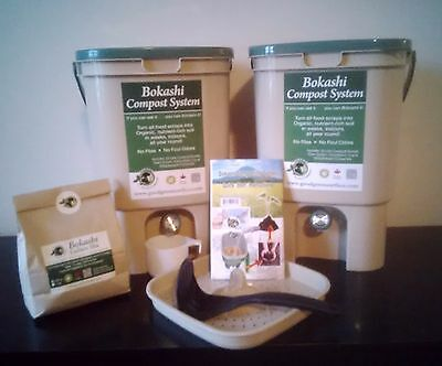 Two Bucket Bokashi Compost System