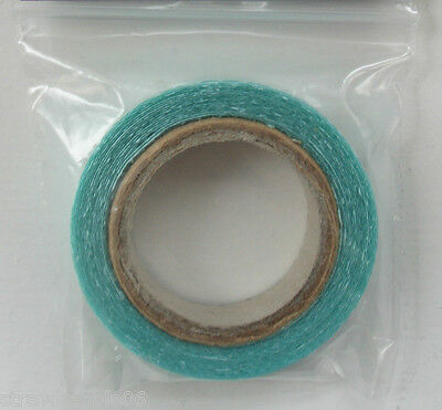 Extra Strong Double Sided Blue Adhesive 8mm Tape Skin Weft Human Hair Extensions