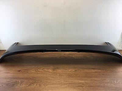 Ford Fiesta Mk8 2008 Black Tailgate Spoiler Free Uk Mainland Delivery!!!