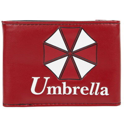 NEW OFFICIAL Resident Evil Umbrella Logo Symbol Card Coin Wallet