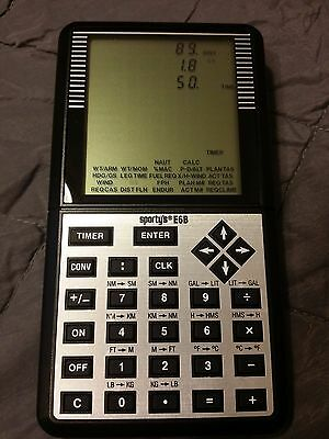 Sporty's E6B Electronic Flight Computer - Excellent Condition