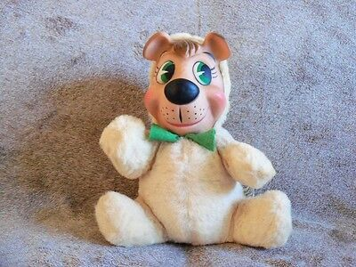 "Vintage 1959 Boo Boo Bear 9"" Plush Doll Hanna-Barbera Knickerbocker Toys"