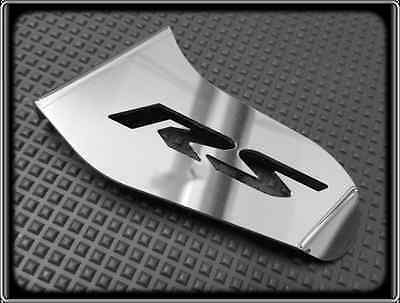 Toe Guard for APRILIA RS4 125 RS (Polished Racing Shark Fin for Chain Sprocket)