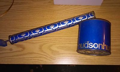 Vintage HUDSON 1973 Insect Bug Sprayer Tin Litho Pump with Hudson Can - USED