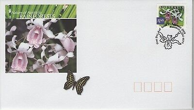 AUSTRALIA RAINFORESTS 2003  FIRST DAY COVER P&P discount available