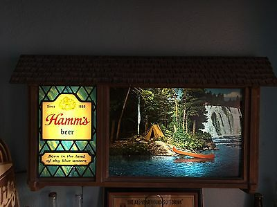 Hamm S Signs Amp Tins Breweriana Beer Collectibles 496