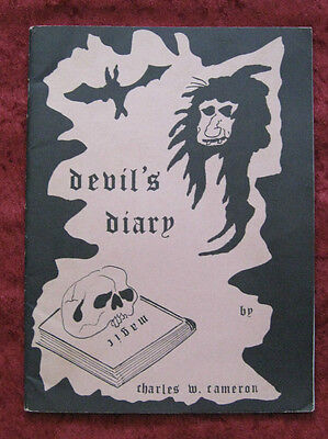 Devil's Diary by Charles W Cameron