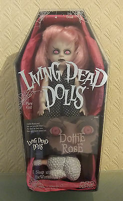 Dottie Rose with eyebrows Living Dead Dolls Series 6 by Mezco