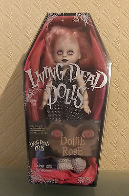 Dottie Rose without eyebrows Living Dead Dolls Series 6 by Mezco