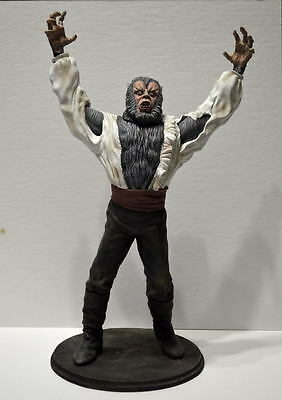 CURSE Of The WEREWOLF STATUE 1:6 Resin Proffesional BUILD & PAINT