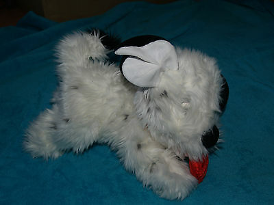 "Lucky From Disney 101  Dalmations Soft Toy Dog With Heart 12"" - Valentines Day"