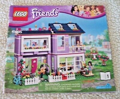 LEGO Friends 41095 Emma's House Instruction Book