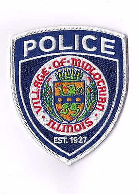 Village of Midlothian Police Illinois IL patch NEW