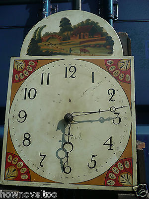 GRANDFATHER CLOCK - with movement - sold for restoration