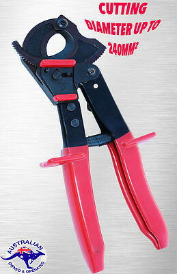 Wire Cable Cutter Ratchet Type Cu/al Cable Up To 240Mm²